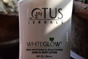 Lotus Herbal White Glow Body Lotion Review